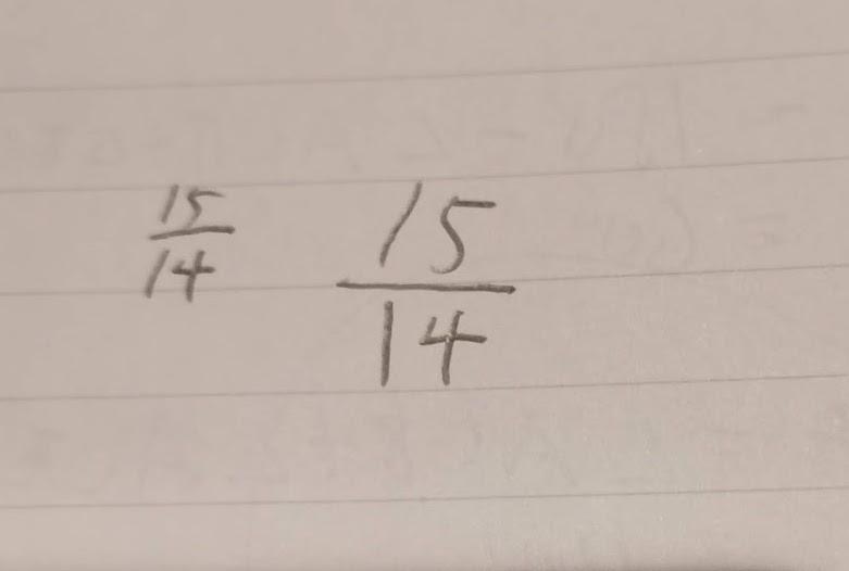 分数の計算も、教えています。