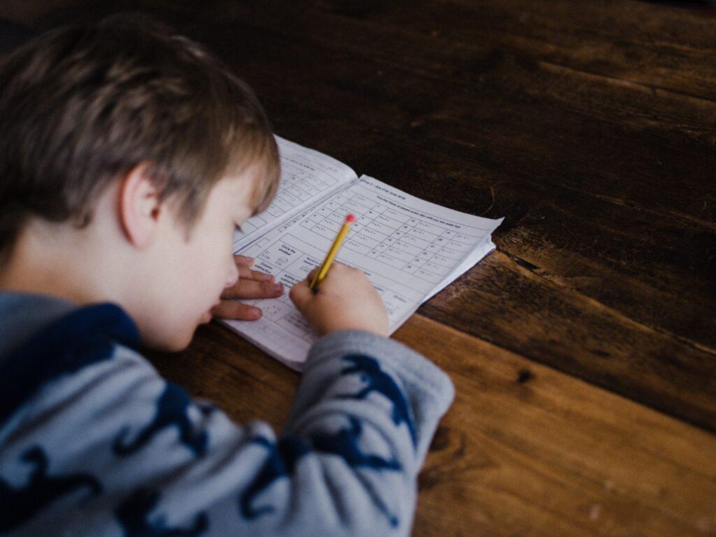一学期の定期テストは、計算中心になりそう??