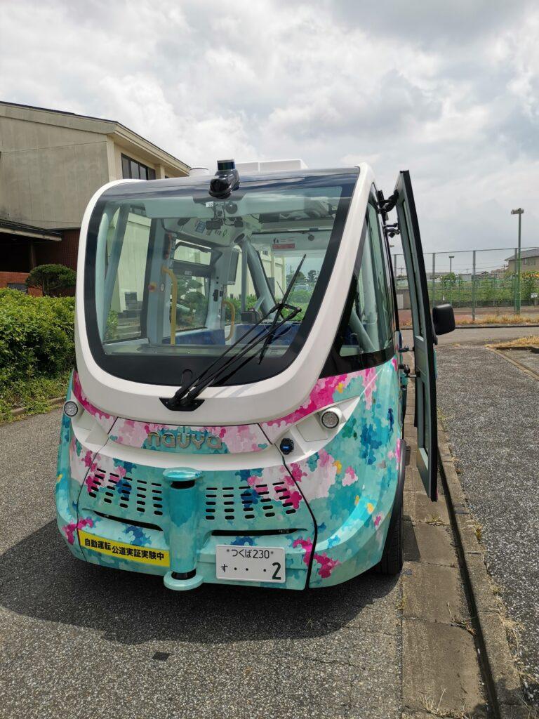 境町の自動運転バス